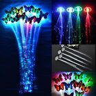 5/10*Light Up Hair Clip Extension LED Costume Flashing Fiber