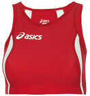 Asics Hop Ladies Running Crop Top - Red