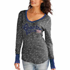 New York Giants Touch by Alyssa Milano Women's Mia Thermal – Gray
