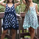 Summer Womens Sleeveless Lace Floral Sexy Mini  Ladies Jumpsuit Sun Dress DZ88