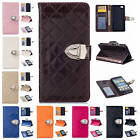 For Huawei Ascend P8 Lite/P8 Mini Luxury Leather Stand Card Pocket Cases Covers