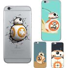 Ultra Thin Star War Robot TPU Soft Phone Case Cover For iPhone 5s 6 6s 7 7Plus