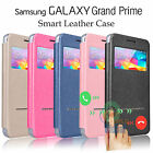 Flip Leather View Window Stand Case Cover For Samsung Galaxy Grand Prime G530