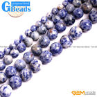 "Natural Sodalite Gemstone Round Beads Free Shipping Strand 15"" 6mm 8mm 10mm 12mm"