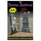 Graveyard Scene Setter for Halloween Party Decoration Accessories