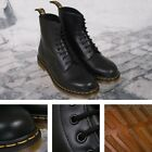 New Dr. Martens 1460 8 Eye Boot BLACK Smooth UK 5 - 12