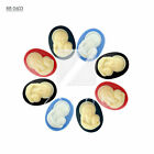 Cabochons Resin DIY 2-4Pcs Flatbacks Cameo 7-40mm Oval Vintage Settings