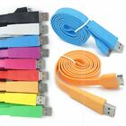 3M Flat Charge Cable For iPhone 4G, 4S, iPad1, ipad2, iPad 3, iPod Touch,2/3/4