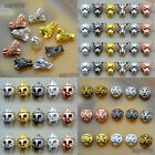 tone wolfe - 10pcs Solid Metal Animal Bracelet Necklace Connector Charm Beads Silver Gold