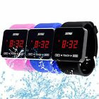 Fashion Men's Women's Sport LCD TOUCH SCREEN Digital Silicone Rubber Wrist Watch