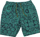 Billabong Brosaic Elastic Waist Walk Shorts Mint