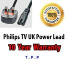 NEW UK Power Lead Cable For Philips TV Television Certain Models SELECT MODEL