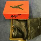 Malefiz Douro Zip Leather Paddock Boots Lace Front / Zip Back - Clearance Stock