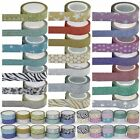 Glitter Paper Masking Tape Washi 15mm x 4m Craft Tape Christmas Gift Decoration