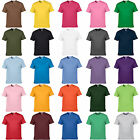 Free P&P Men's Women T-Shirt 100% Cotton Round neck singlet Short Sleeve XS-3XL
