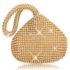 HOT Ladies Sparkly Decoration Evening Party Bridal Wedding Clutch Bag Purse DZ88