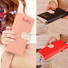 Lady Women Long Purse Clutch Wallet Zip Bag Card Holder Handbag Case DZ88