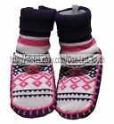 *CIRCO 1 Pair SLIPPER BOOTS Infant/Baby Girl PURPLE+PINK+WHITE New! *YOU CHOOSE*
