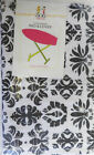 Ironing Board Cover & Pad - Floral, Stripes & Scroll Patterns