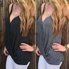 Women Summer Loose Casual Cotton Sleeveless Vest Shirt Top Blouse Ladies Tops