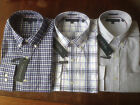 NWT Tommy Hilfiger Cotton Easy Care Men's Non-Iron Exploded-Plaid Dress Shirt