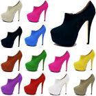 Womens High Heels Wedding Party Ladies Bridal Stiletto Velvet Shoes US Size 4-11