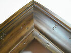 "2"" Wide Walnut Ponderosa Aged Pine Distresed Picture Frame-Custom Odd Size"