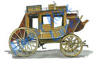 Old Horse Carriage Buggy Vinyl Decal Sticker - Car Truck RV Cup Boat Tablet