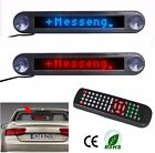 12V LED Message Sign Moving Scrolling Digital Display Board for Car Shop Windows