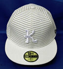 Mens 59FIFTY New Era  Skript 2 Hats  (BL) -K61184WHT