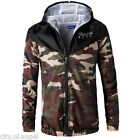 Sports Outdoors Hunting Best Deals - Mens Outdoor Jacket Coat Hoodie Camouflage Sport Hooded Camping Hunting Outwear