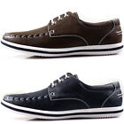New Polytec Lace up Fashion Casual Business Sneakers Men Trend Dress Shoes