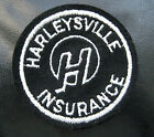 HARLEYSVILLE~INSURANCE EMBROIDERED SEW ON PATCH~HARLEY~ NATIONWIDE COMPANY  3""