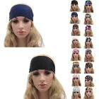 Women Wide Sports Yoga Headband Stretch Hairband Elastic Hair Band Boho Turban !