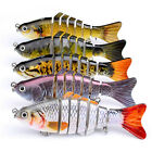 Multi-Jointed Bass Outdoor Pike Killer  Fishing Lure Swim Simulation Bait Life