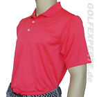 ADIDAS GOLF HERREN POLOSHIRT PUNCH/WHITE UV-SCHUTZ CLIMACOOL RELAXED FIT