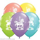 Carousel Horses Latex Balloons 28cm (11 inches) by Qualatex