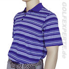 ADIDAS GOLF HERREN POLOSHIRT CLIMALITE PURPLE GREY