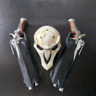 1:1 HOT Game Reaper Double Guns&Mask Cosplay Props Weapon Gun Collection Gift