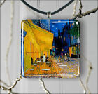 CAFE TERRACE AT NIGHT ARTIST VINCENT VAN GOGH PENDANTS NECKLACE M - L - XL -jk8Z