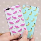 Flower Pattern Soft Rubber TPU 3D Pattern Silicon Skin Case Cover For Huawei