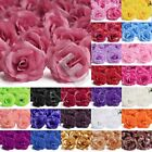 20pcs Big Rose Bridal Flower Heads Artificial Wedding Pary Art DIY 70mm