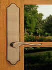 FPL Luxuriant Privacy Door Lever Set & Back Plates; Bedroom & Bathroom Doors