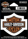 Harley Davidson Bar & Shield Decal Stickers d302_