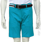 J. LINDEBERG GOLF HERREN SHORTS SOMLE LIGHT POLY AQUA GREEN
