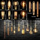 E27/E14/B22 40/60W Vintage Retro Industrial Edison Lamps Filament Lights Bulbs