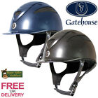 Gatehouse Conquest MKII Riding Hat (Metallic Finish) FREE UK DELIVERY