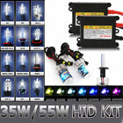 35W 55W HID Bi-xenon Conversion Headlight Kit Slim Ballast Bulb H1 H3 H7 H4 H11
