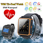 W08 Waterproof IP68 Bluetooth Smart Watch Tri-proof Phone Mate for iOS Android