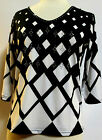 Valentina Top Multi Colored Blouse  Style 10917 Studed Polly NWT  Size Small